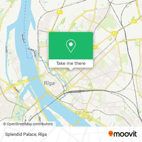 Splendid Palace map