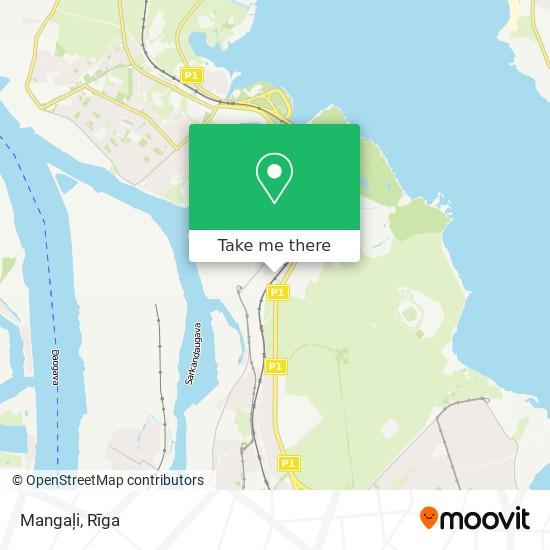Mangaļi map
