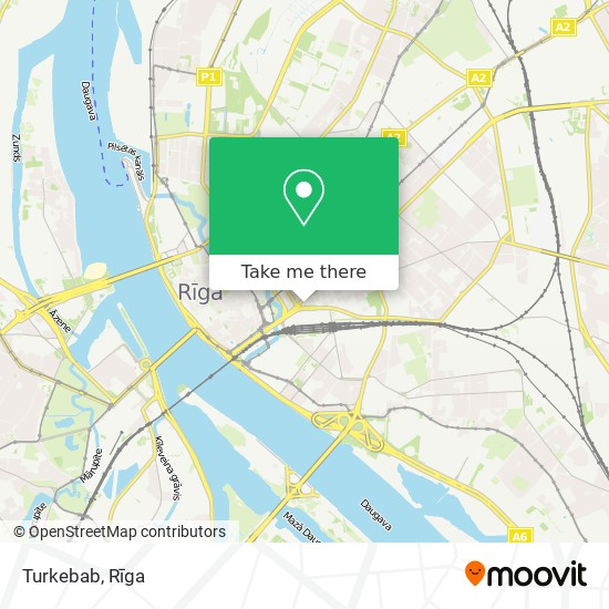 Turkebab map