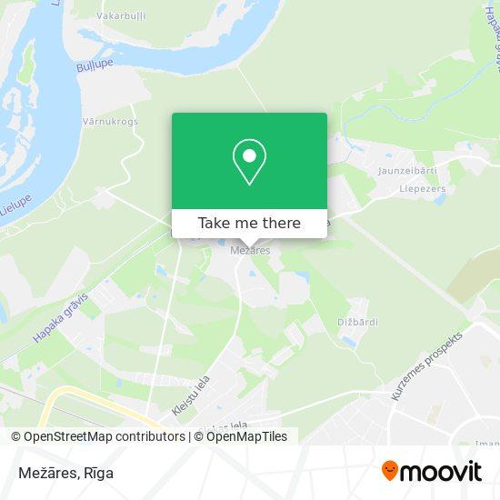 Mežāres map