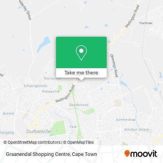 Graanendal Shopping Centre map
