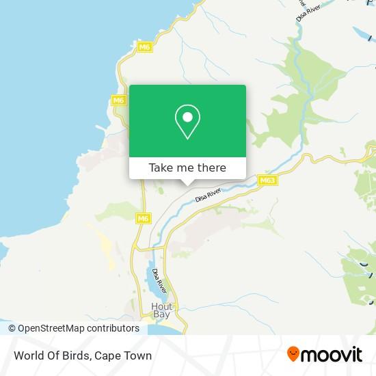 World Of Birds map