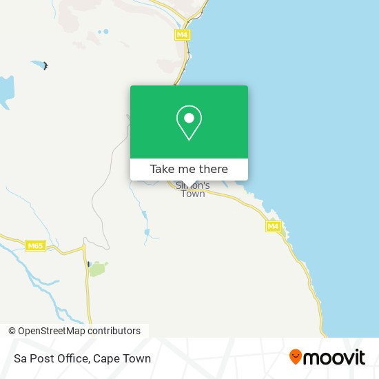 Sa Post Office map