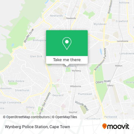 Wynberg Police Station map