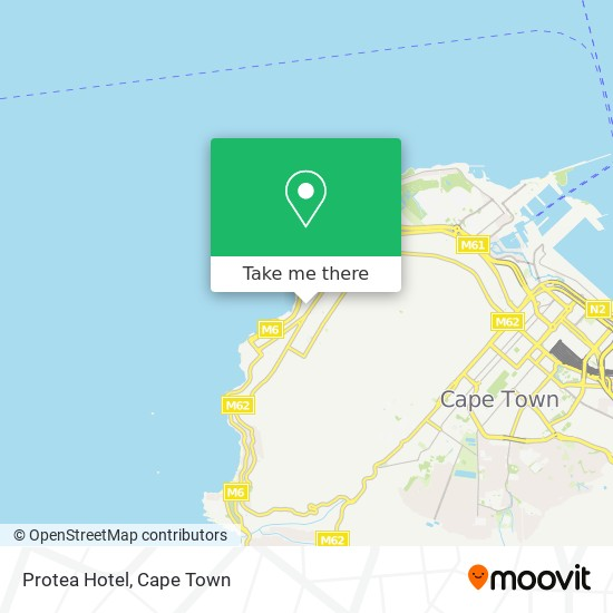 Protea Hotel map