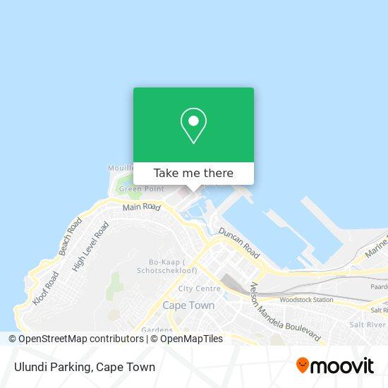 Ulundi map
