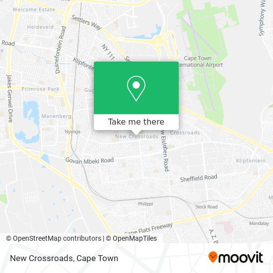 New Crossroads map