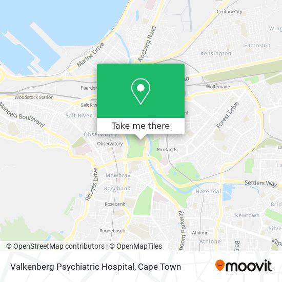 Valkenberg Psychiatric Hospital map