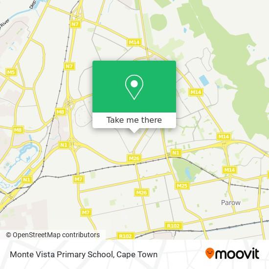 Monte Vista Primary School map