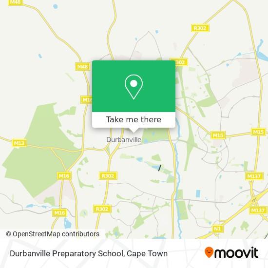 Durbanville Preparatory School map