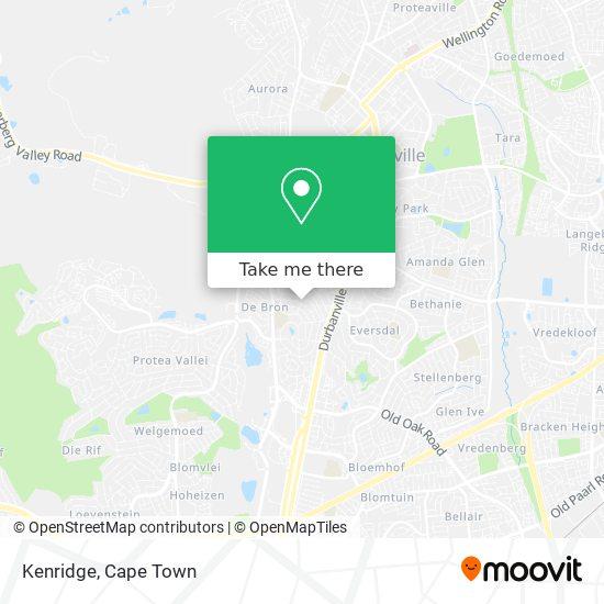 Kenridge map