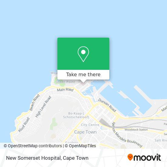 New Somerset Hospital map