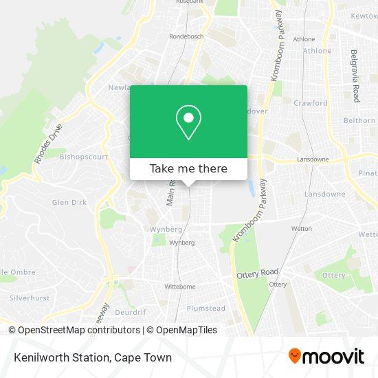 Kenilworth Station map
