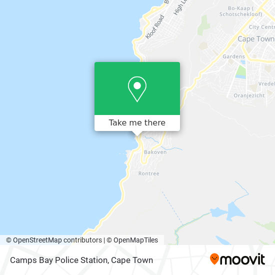 Camps Bay Police Station map