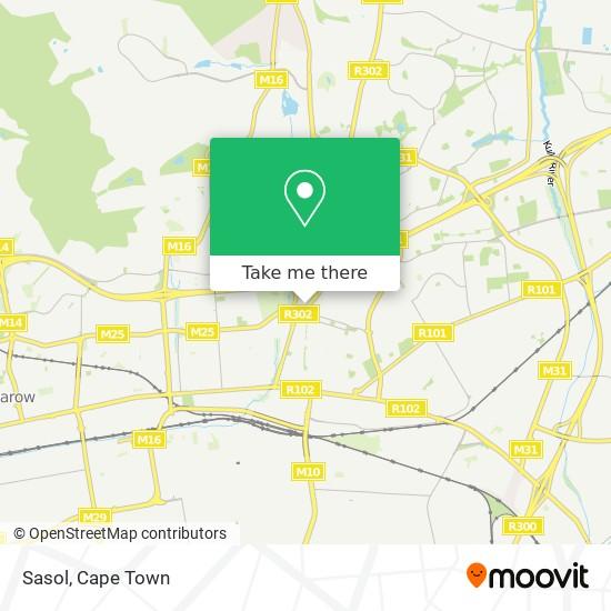 Sasol map