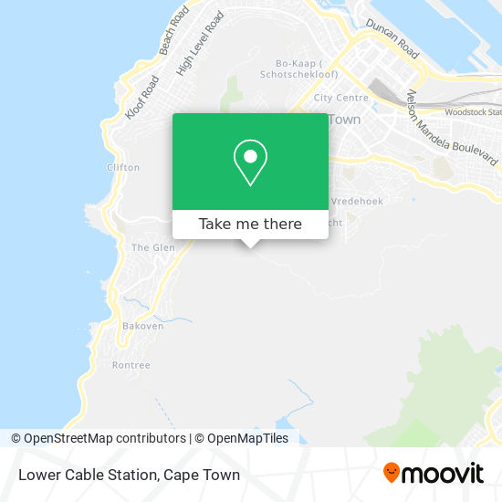 Lower Cable Station map