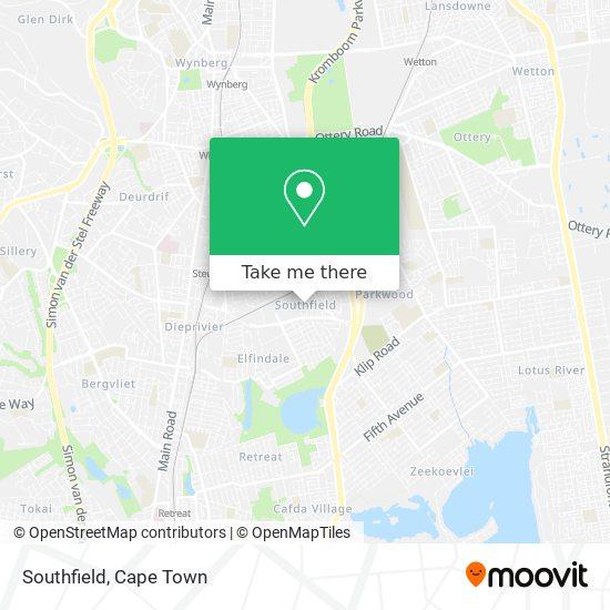 Southfield map