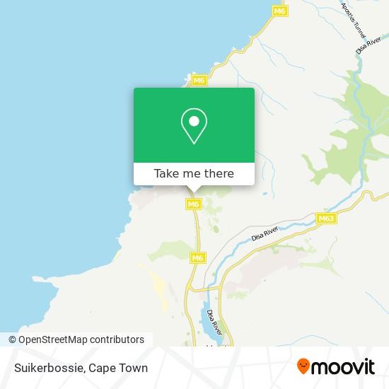 Suikerbossie map