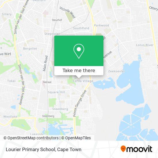 Lourier Primary School map