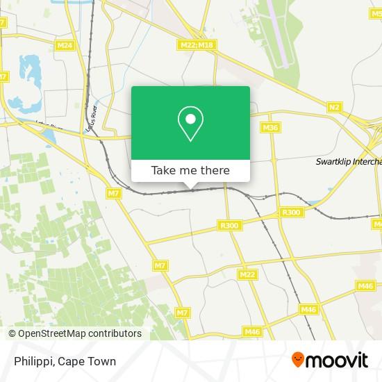 Philippi map