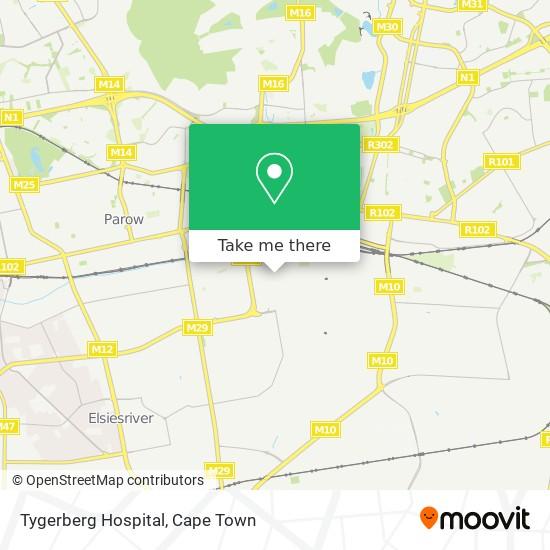 Tygerberg Hospital map
