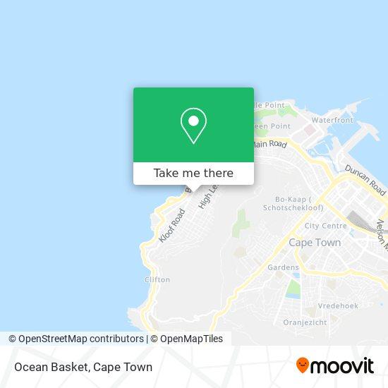 Ocean Basket map