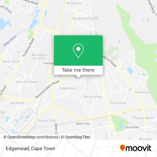 Edgemead map