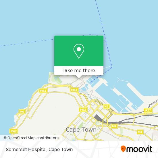 Somerset Hospital map