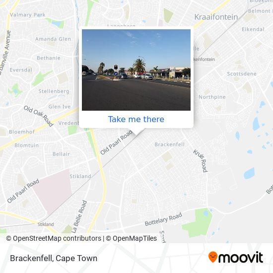Brackenfell map