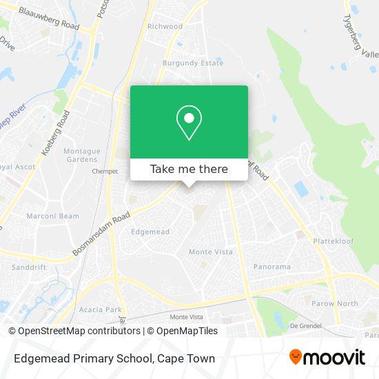 Edgemead Primary School map