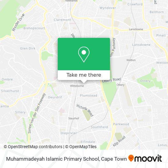 Muhammadeyah Islamic Primary School map