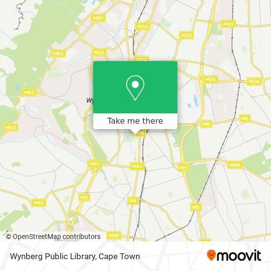 Wynberg Public Library map