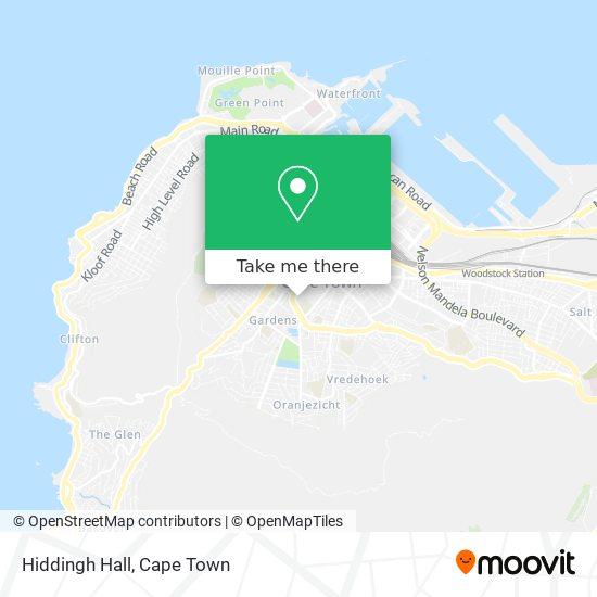 Hiddingh Hall map
