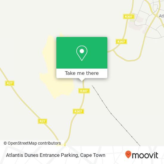 Atlantis Dunes Entrance Parking map