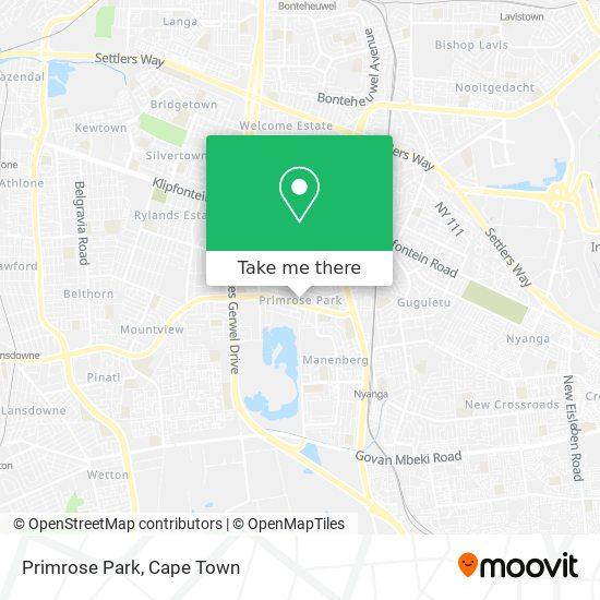 Primrose Park map