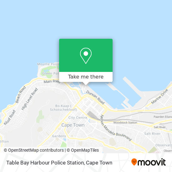 Table Bay Harbour Police Station map
