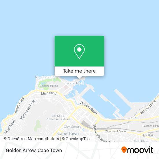 Golden Arrow map