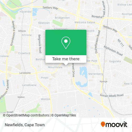 Newfields map
