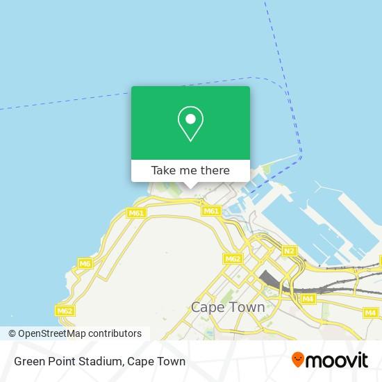 Green Point Stadium map