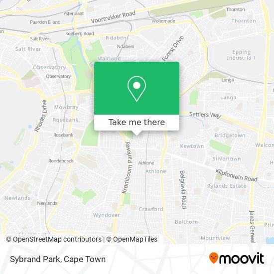 Sybrand Park map
