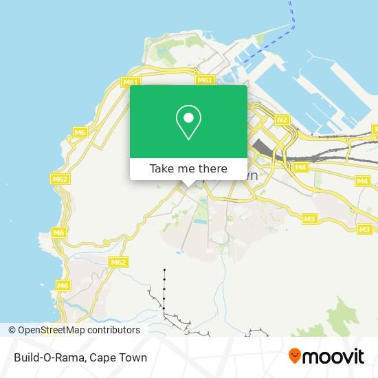 Build-O-Rama map