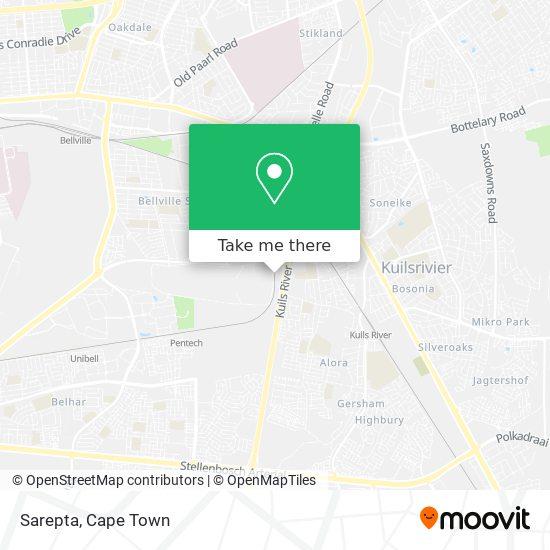 Sarepta map