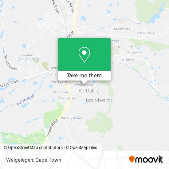Welgelegen map