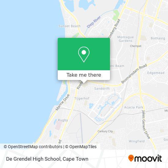 De Grendel High School map
