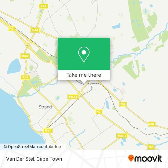 Van Der Stel map