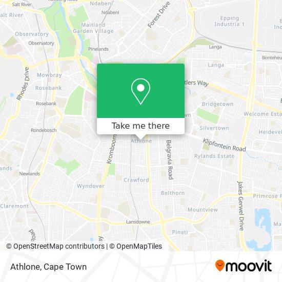 Athlone map