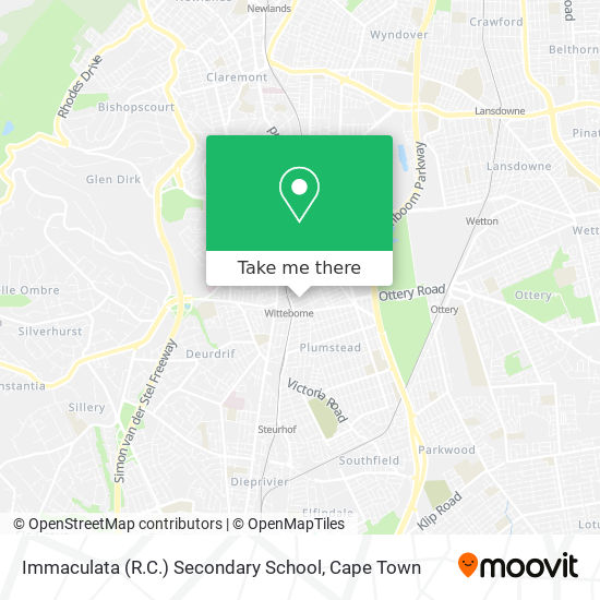 Immaculata (R.C.) Secondary School map