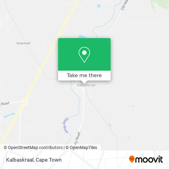 Kalbaskraal map