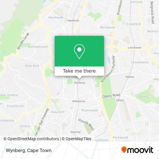 Wynberg map