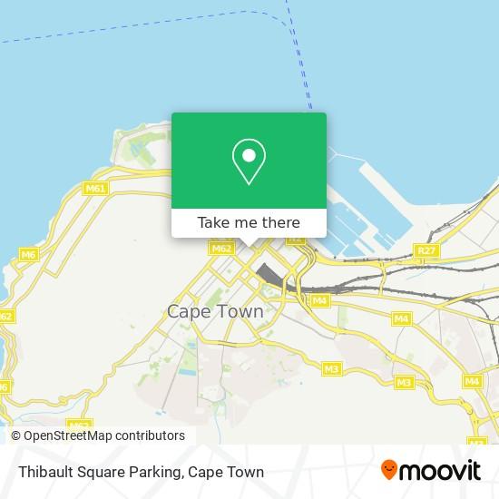 Thibault Square Parking map